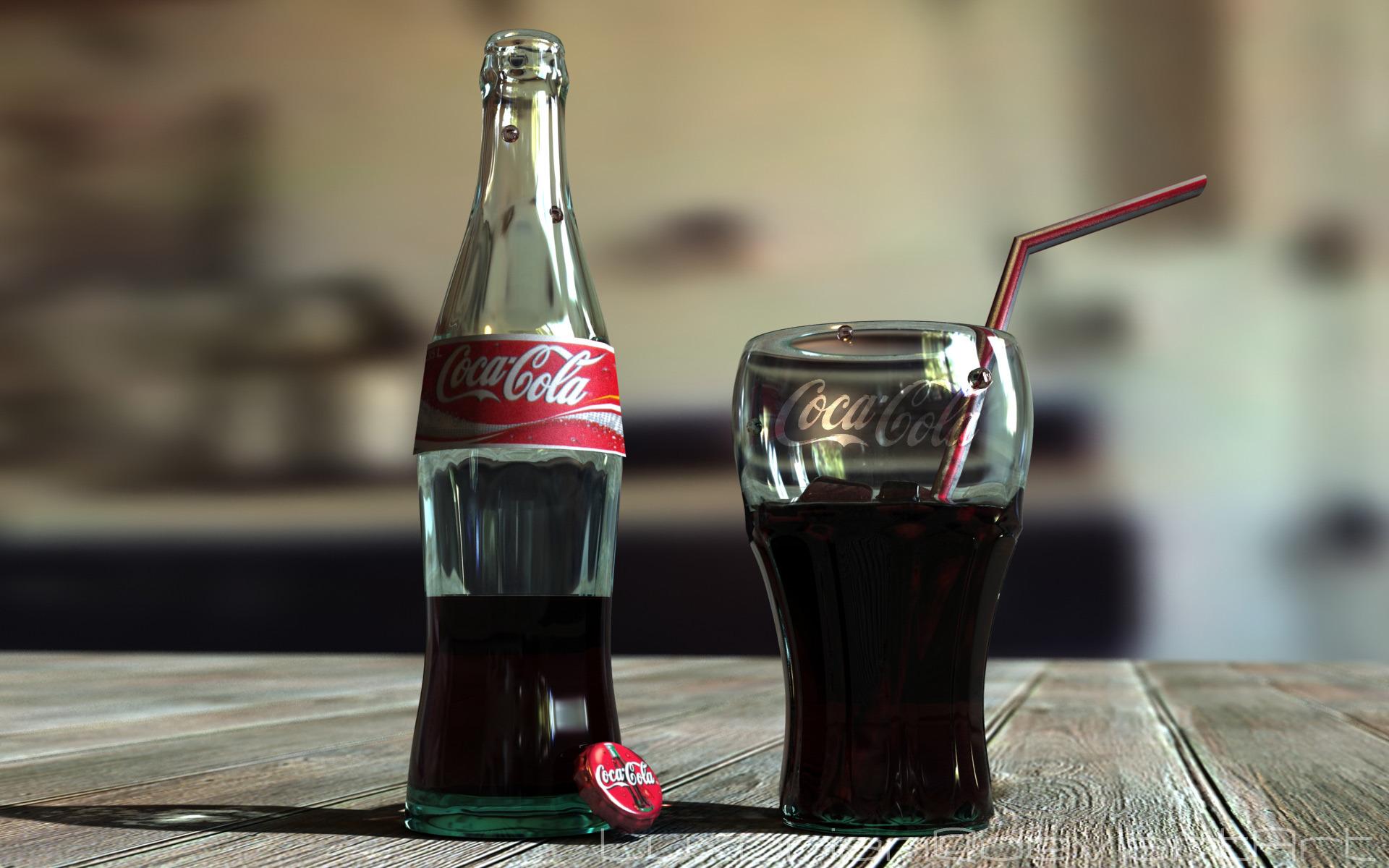 Кока-кола - прекрасный очиститель нагара