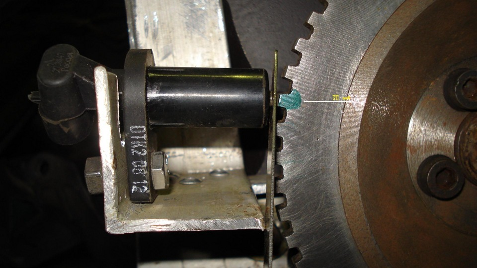 Датчик предназначен для синхронизированной работы автомобиля