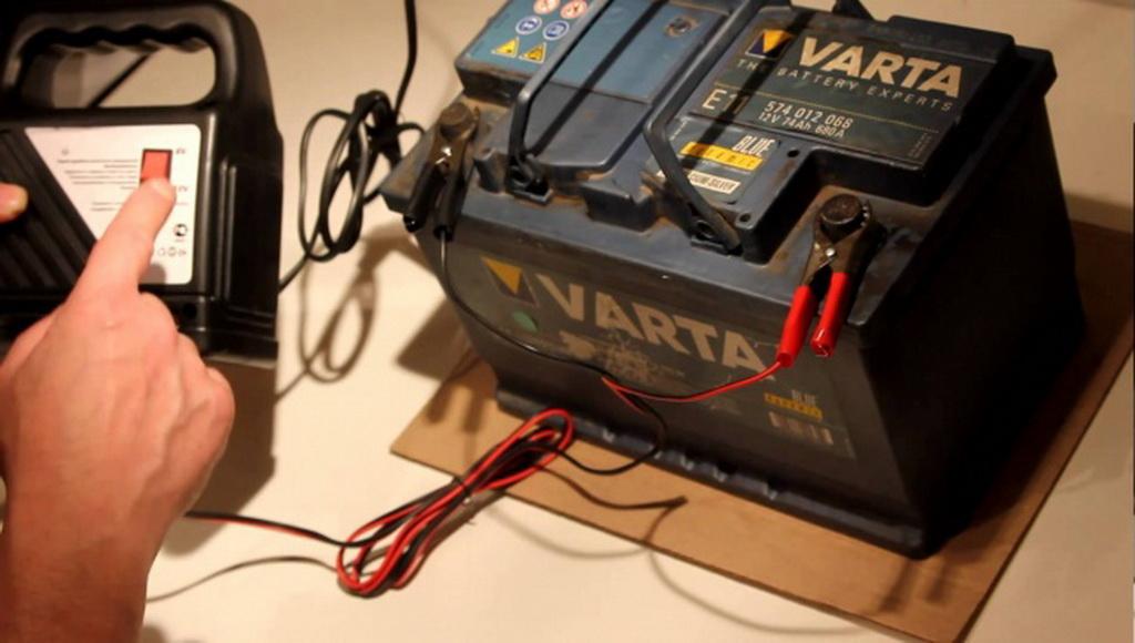 зарядка необслуживаемого автомобильного аккумулятора инструкция