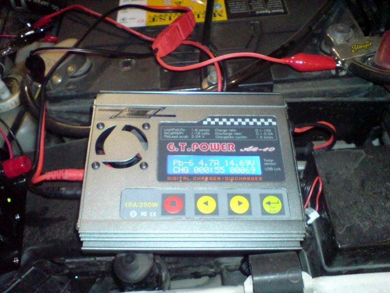 Инструкция по зарядке автомобильный аккумулятор