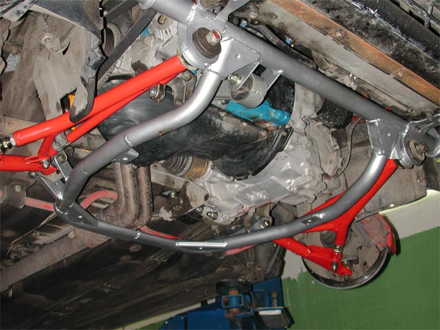 ремонт многорычажной подвески на СТО