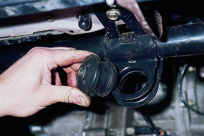 ремонт рычага передней подвески