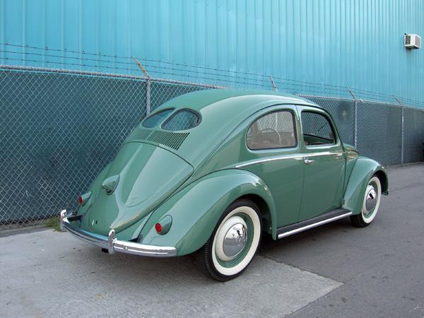 впервые торсионную подвеску поставили на Volkswagen Beetle