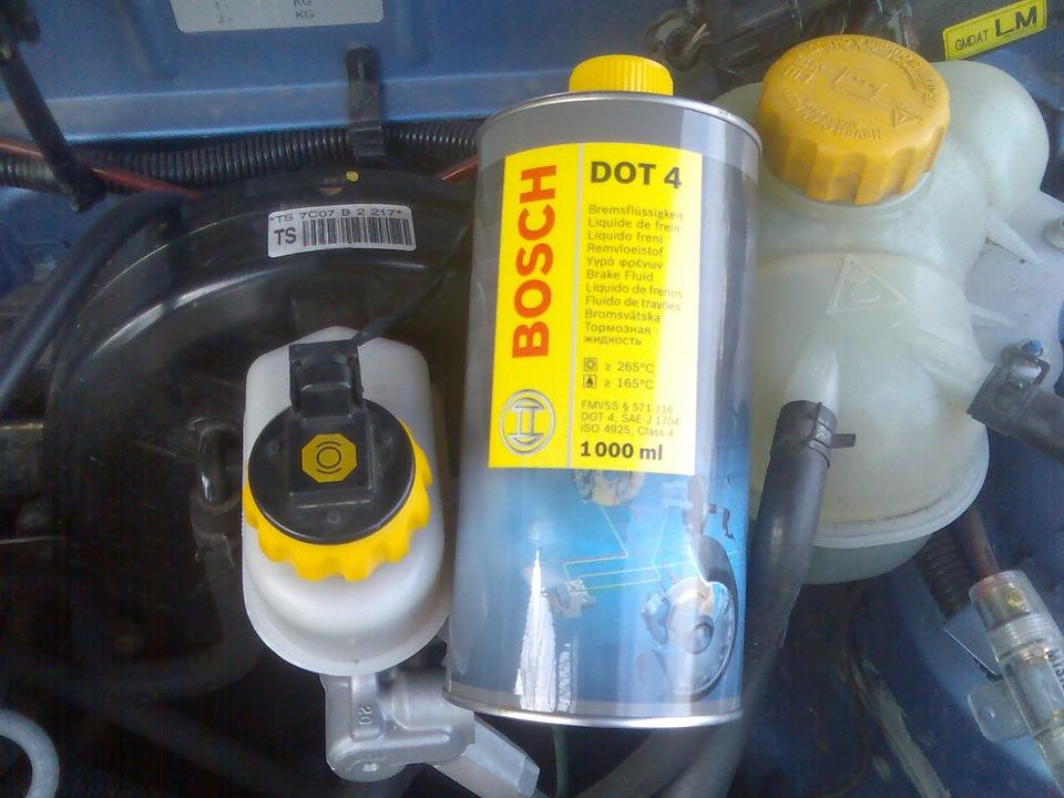автомобильная тормозная жидкость