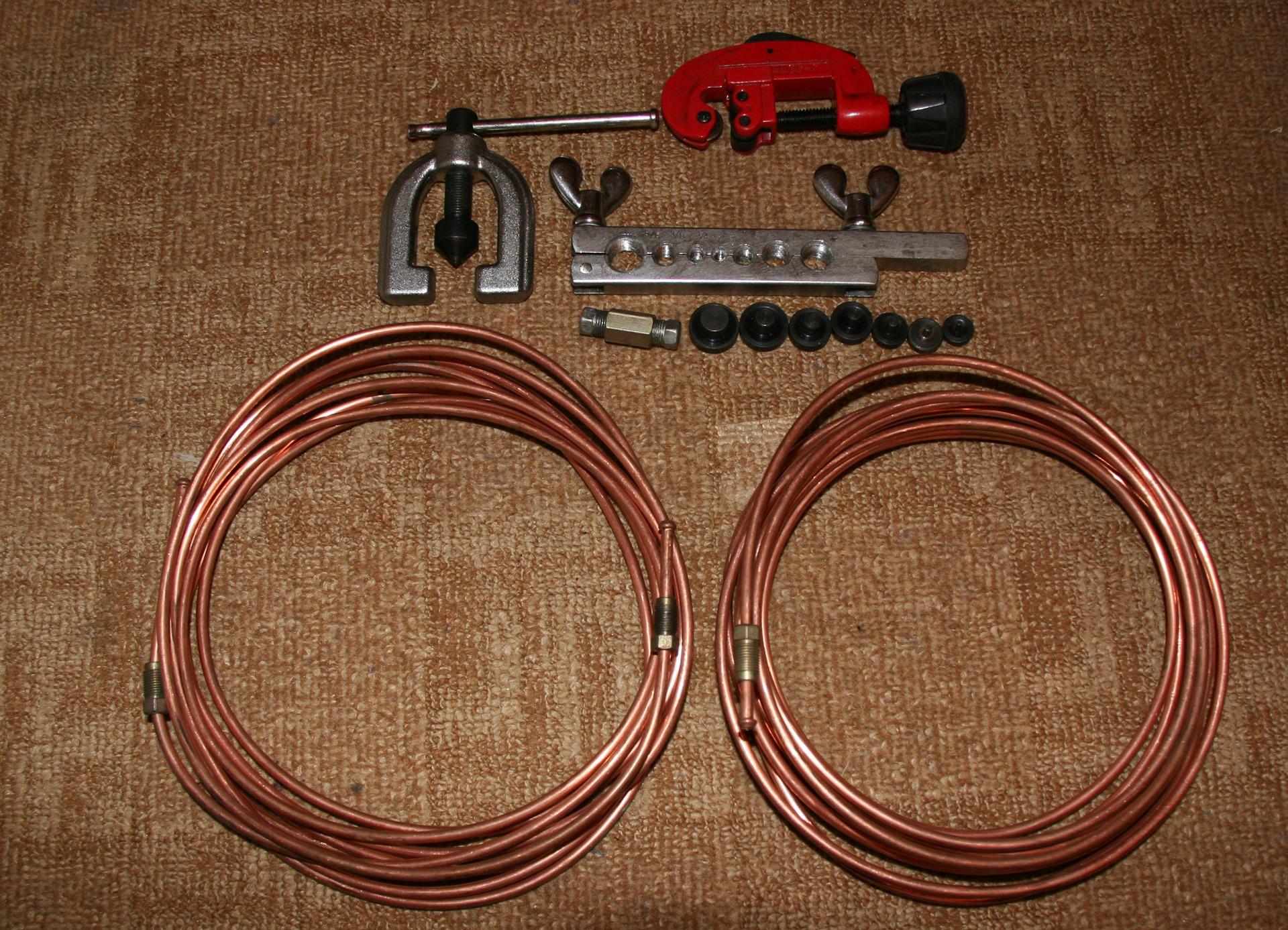 инструмент для развальцовки тормозной трубки