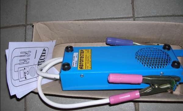 нагрузочная вилка для тестирования аккумулятора