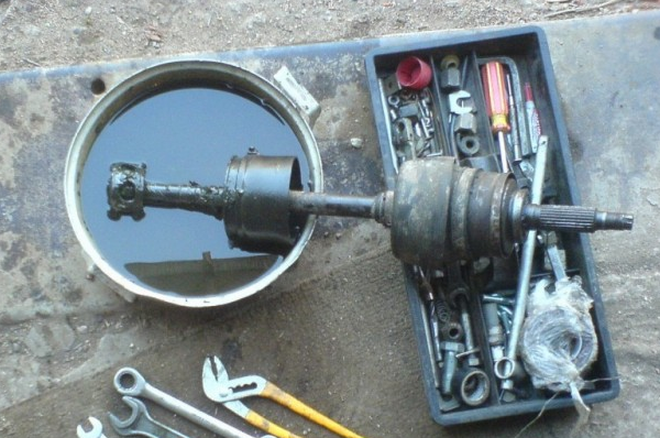 ремонт внутреннего ШРУСа