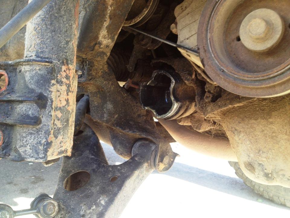 ремонт автомобильного ШРУСа