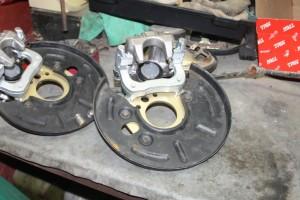 установка дисковых тормозов