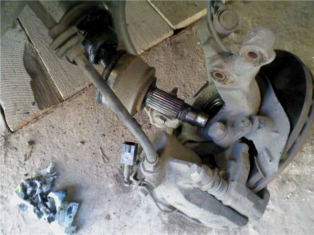 ремонт пыльника ШРУСа