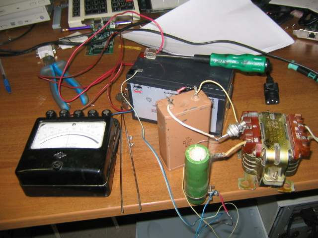 схема для заряда аккумулятора ассиметричным током