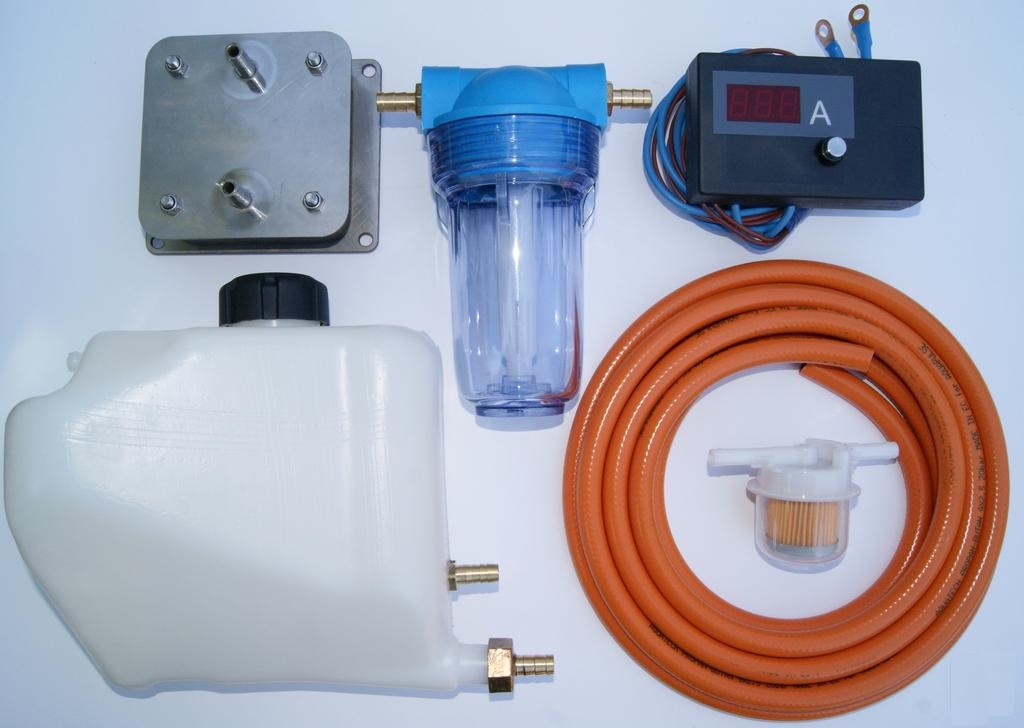 все необходимое для создания генератора водорода