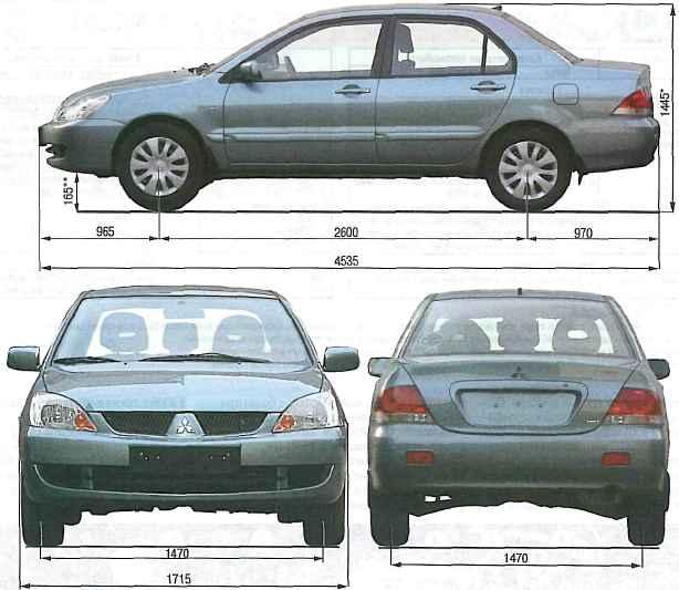 "клиренс легкового автомобиля марки ""Mitsubishi"""