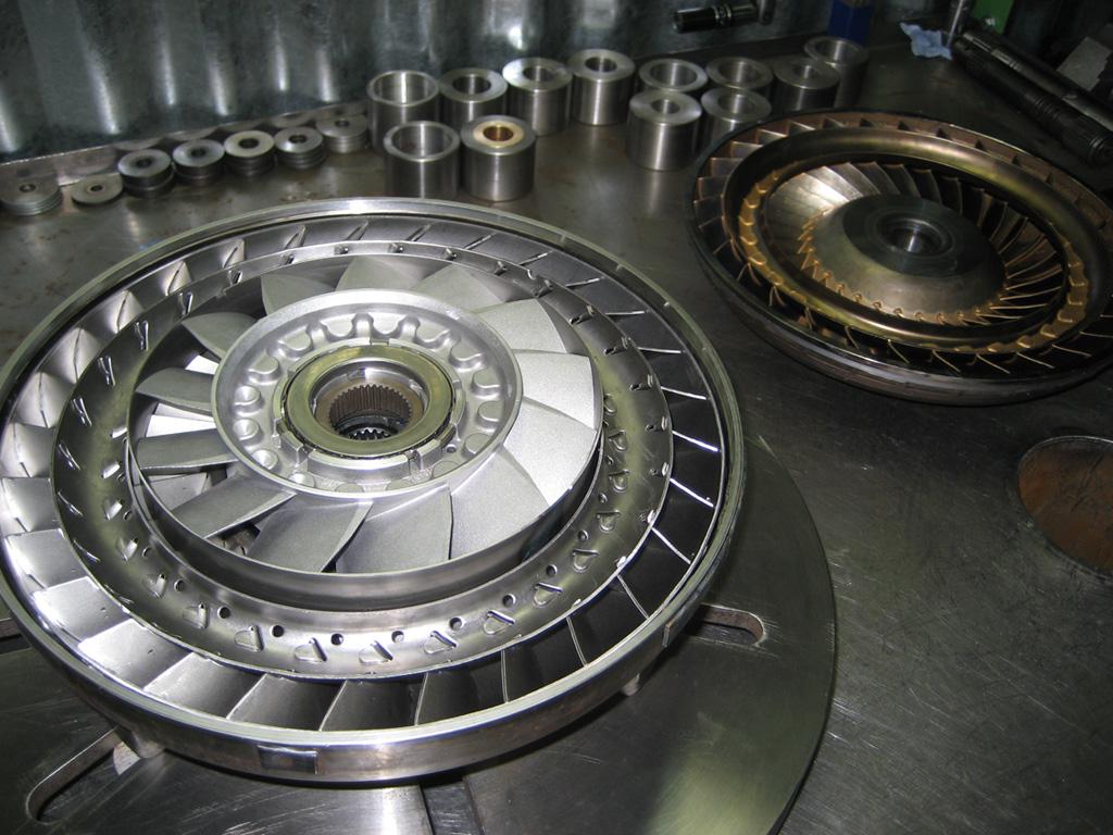 процесс ремонта гидротрансформатора АКПП