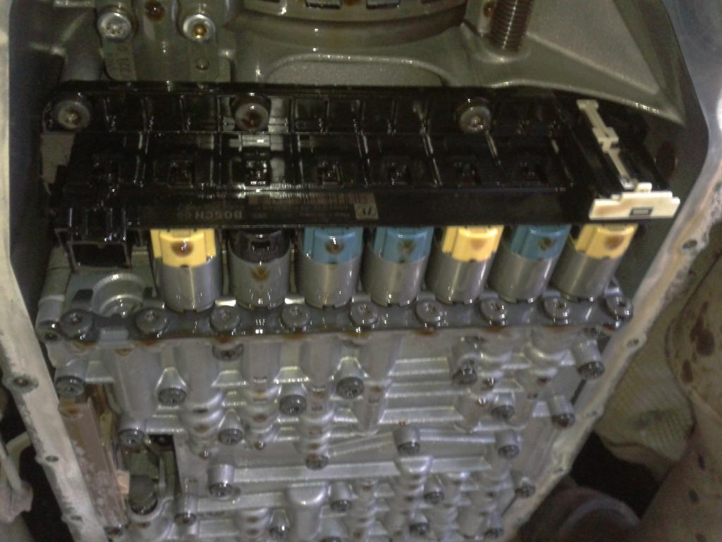 процесс ремонта соленоидов АКПП