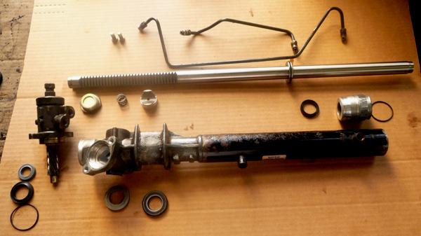 Устройство рулевой рейки с гидроусилителем