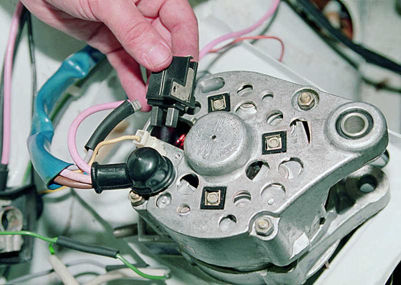 Замена щеток автомобильного генератора