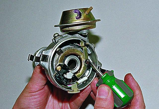 Ремонт вакуумного регулятора опережения зажигания