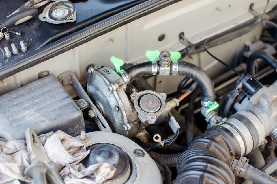Вариатор и система зажигания автомоибля