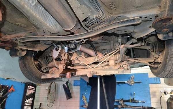 Замена рулевой рейки на форд фокус 2
