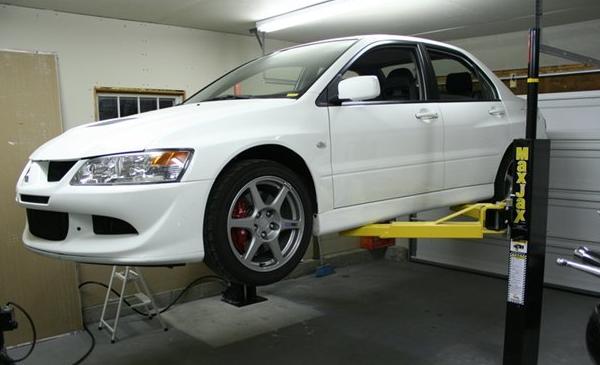 Автомобильный подъемник для гаража своими руками