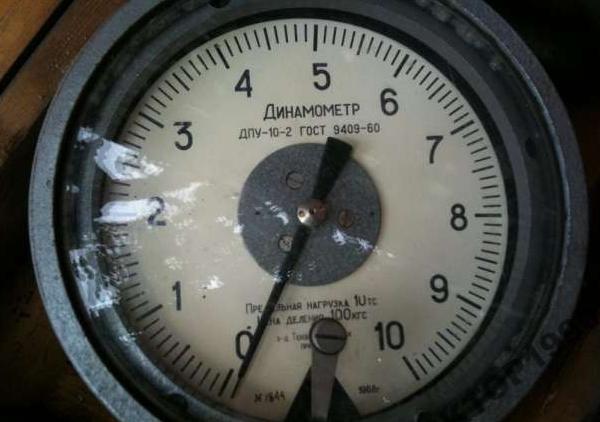 Пружинный динамометр для проверки генератора
