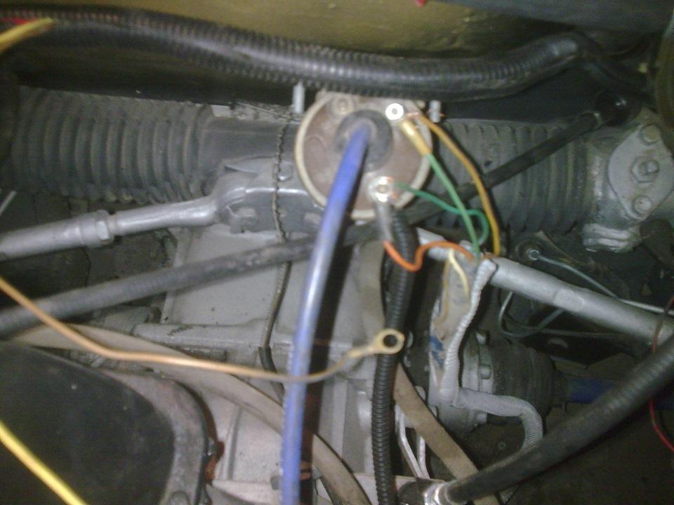Провода автомобильной катушки зажигания