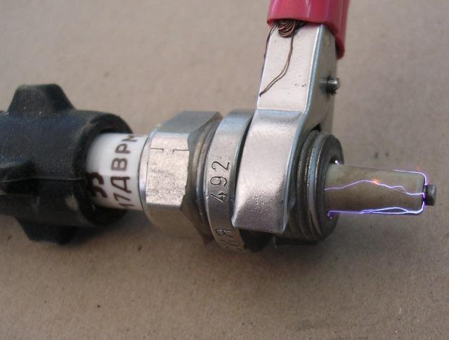 Как сделать разрядник для зажигания