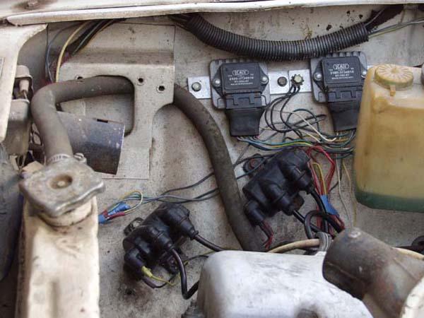 Встроенная электрическая система зажигания