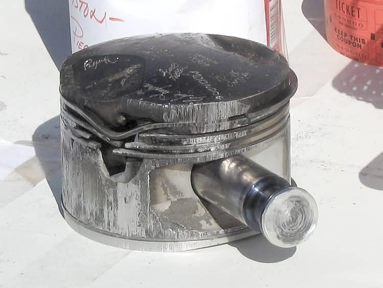 Последствия сильной детонации двигателя