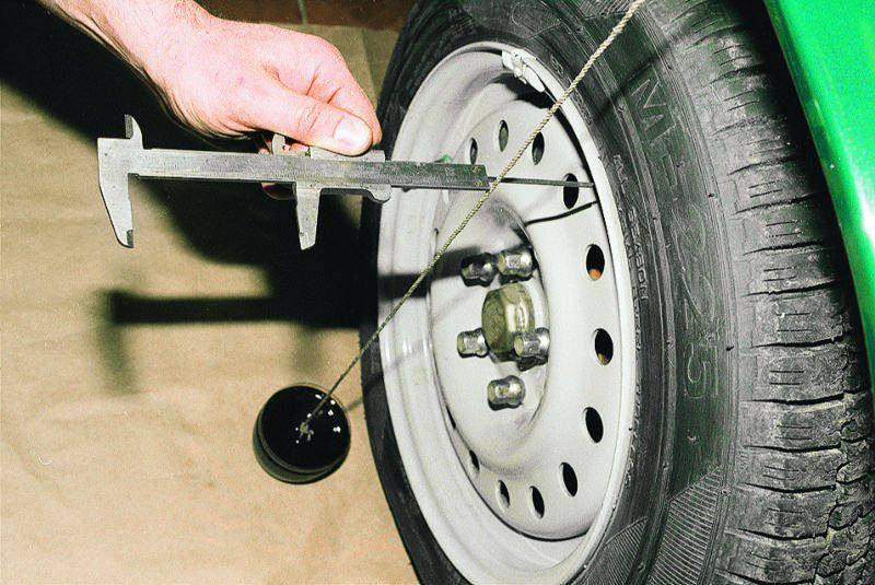 Регулировка развала колес фото