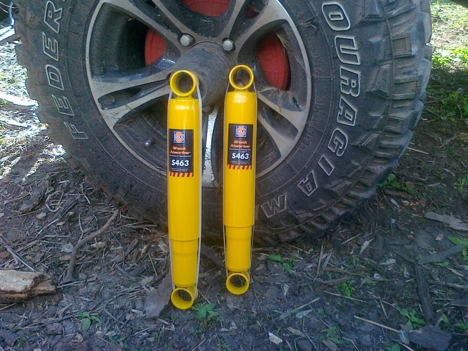 Газомасляные амортизаторы для авто