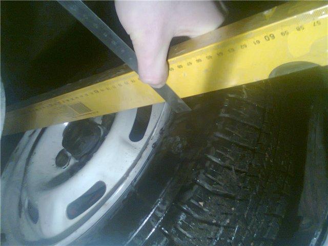Измерение угла развала колес