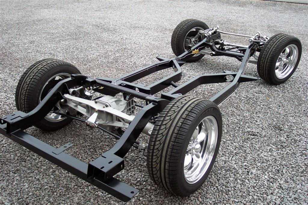 Шасси легкового авто фото