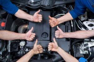 Успешный ремонт автомобиля фото