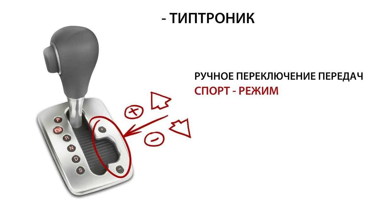 Режим Типтроник на коробке передач