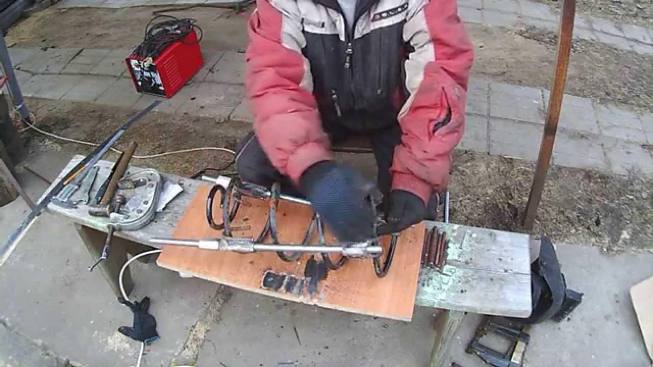 Самодельный съемник пружин амортизатора