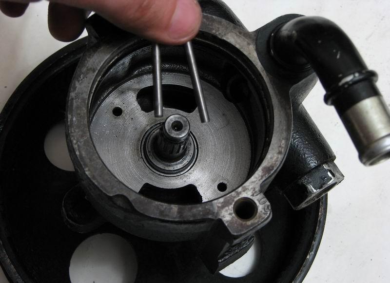 Гидроусилитель руля во время ремонта
