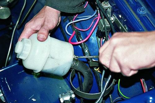 Контроль работоспособности гидроусилителя руля
