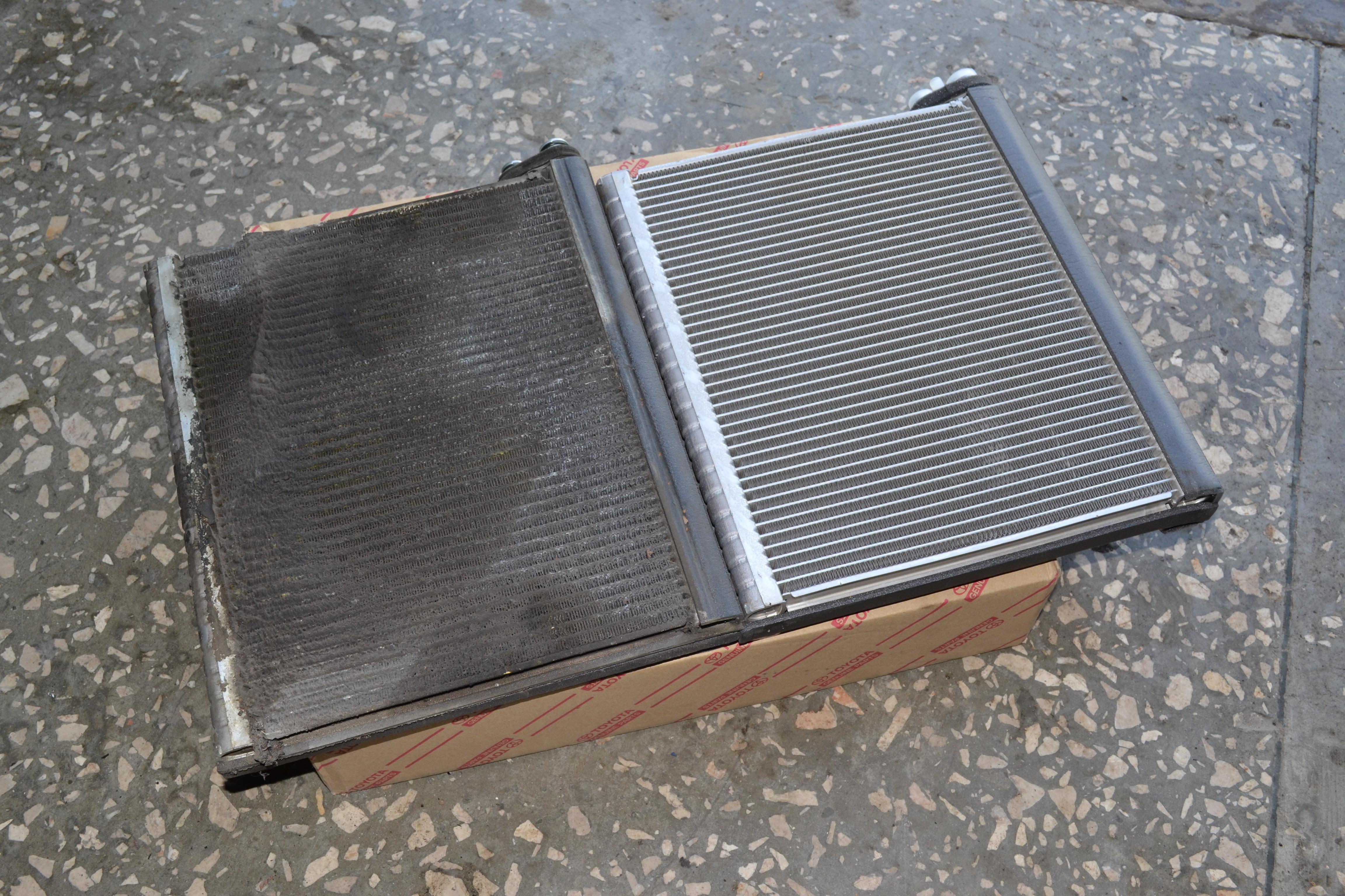 Коррозия испарителя кондиционера автомобиля