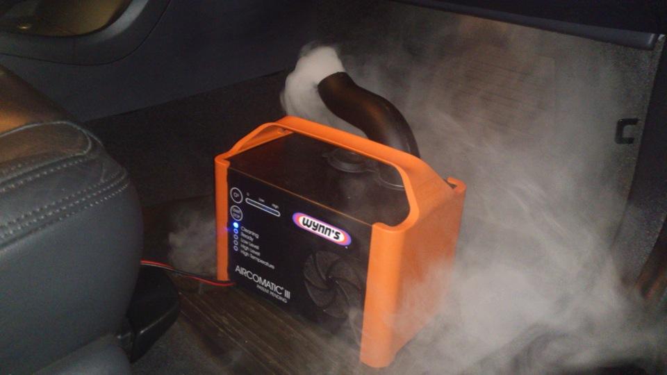 Установки для очистки и дезинфекции кондиционера авто