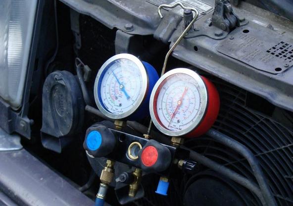 Приборы для диагностики шлангов кондиционера авто