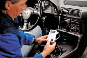 Диагностика автомобильного кондиционера специальным прибором