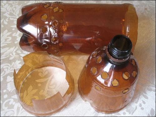 Пластиковые бутылки для автомобильного кондиционера