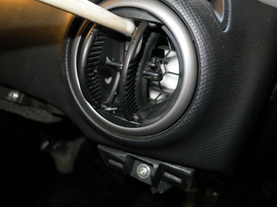 Фото воздушного канала автомобиля