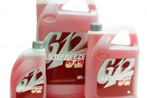 Антифриз G12 красного цвета