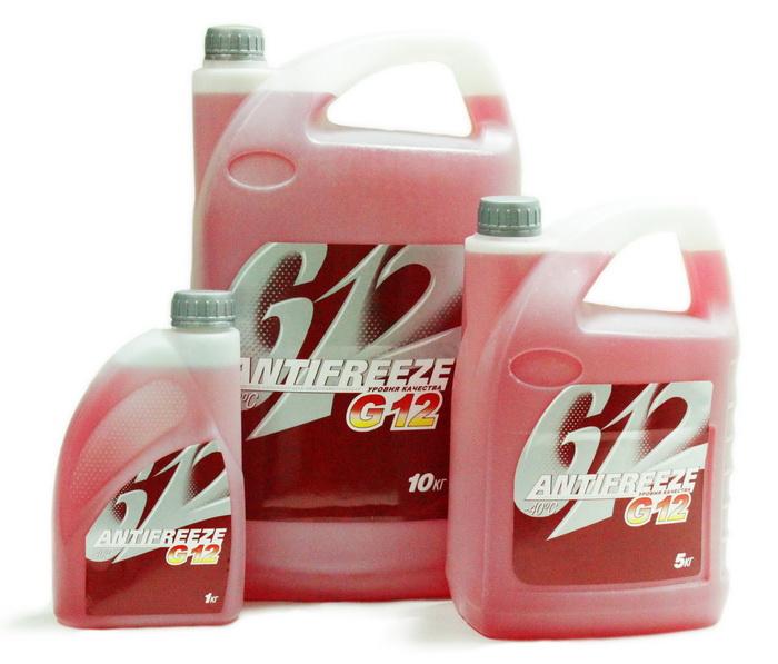 Фото охлаждающей жидкости G12
