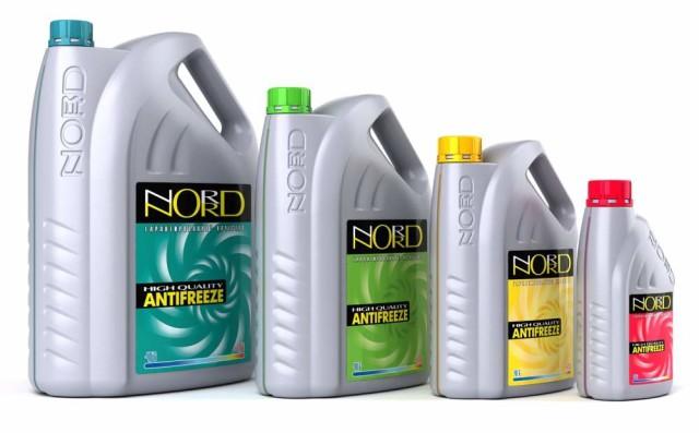 Охлаждающие жидкости марки Норд