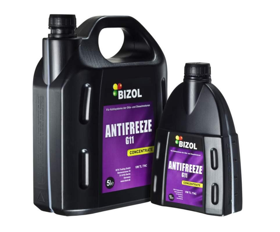 Охлаждающая жидкость BIZOL Antifreeze