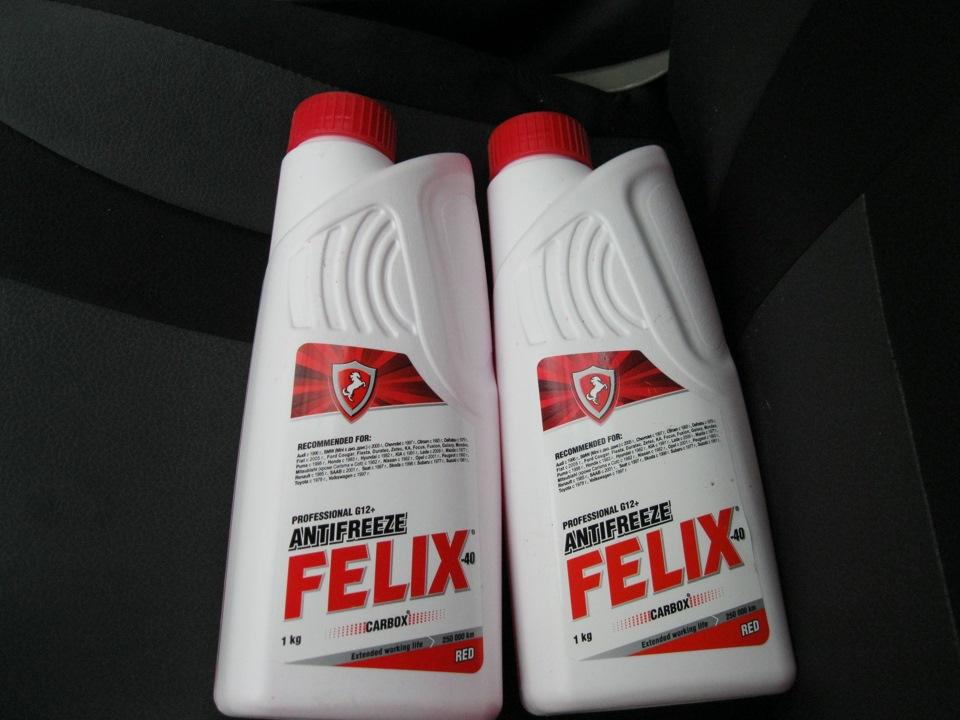 Красный антифриз Felix Carbox